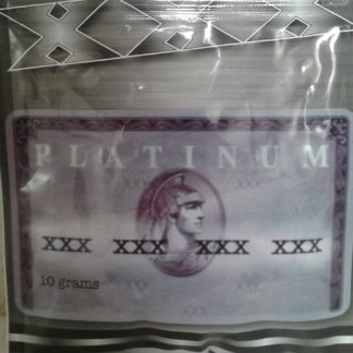 Platinum xxx incense