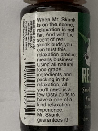 Mr Skunk Relax Vapor Liquid Incense